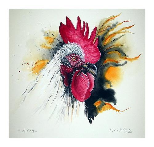 Maria Inhoven, Le Coq, Animals: Land, Animals: Air, Naturalism