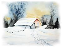 Maria-Inhoven-Landscapes-Winter-Nature-Miscellaneous-Modern-Age-Naturalism