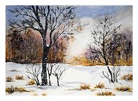 Maria-Inhoven-Landscapes-Winter-Miscellaneous-Romantic-motifs-Modern-Age-Naturalism