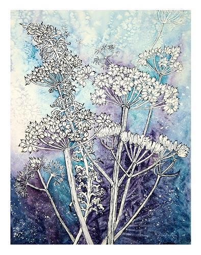 Maria Inhoven, Winterblütenzauber, Miscellaneous Plants, Times: Winter, Naturalism