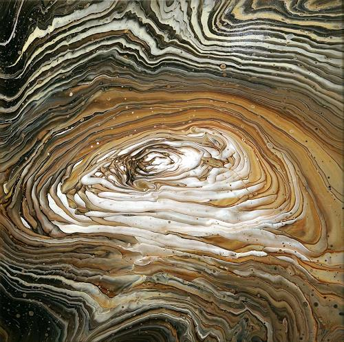 Maria Inhoven, Acryl Fluid Art - Swirl 3, Abstract art, Decorative Art, Abstract Art