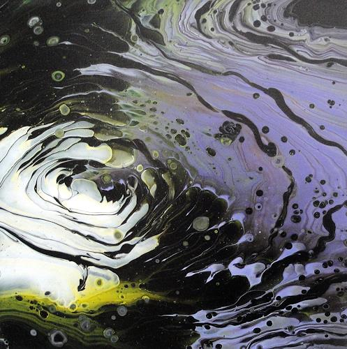 Maria Inhoven, Dunkler Swirl, Abstract art, Decorative Art, Abstract Art, Expressionism