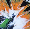 M. Inhoven, Acryl Fluid Art