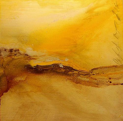 Nele Kugler, summer flow, Abstract art, Landscapes: Summer, Abstract Art