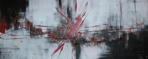 Nele Kugler, burnout, Abstract art, Fantasy, Contemporary Art