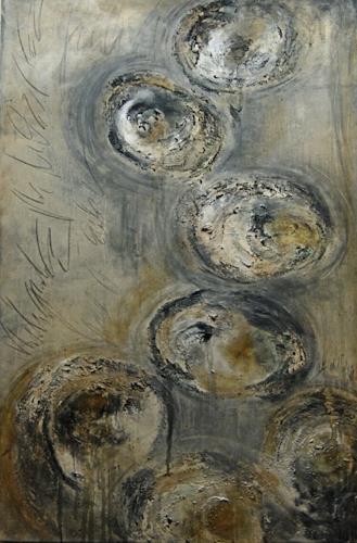 Nele Kugler, dieser Weg, Abstract art, Miscellaneous Landscapes, Abstract Art