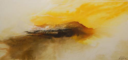 Nele Kugler, summer glory, Abstract art, Landscapes: Summer, Abstract Art