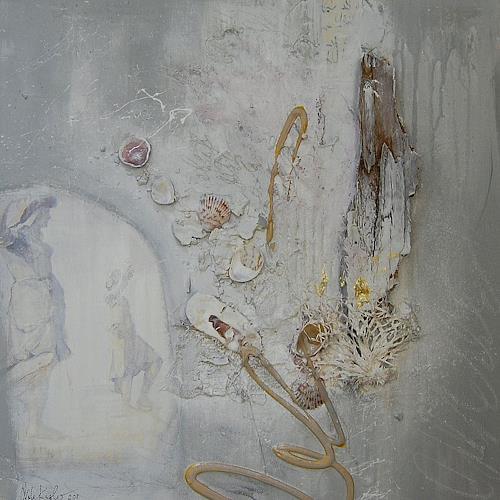 Nele Kugler, Ahoi!, Abstract art, Landscapes: Sea/Ocean, Abstract Art