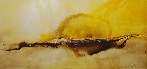 Nele Kugler, early summer, Abstract art, Landscapes: Summer, Abstract Art