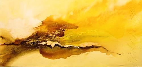 Nele Kugler, early summer, Abstract art, Landscapes: Summer, Abstract Art, Expressionism