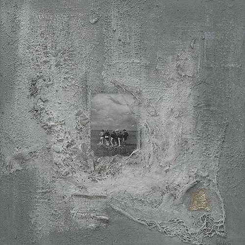 Nele Kugler, baden gehen I, Abstract art, Landscapes: Sea/Ocean, Abstract Art