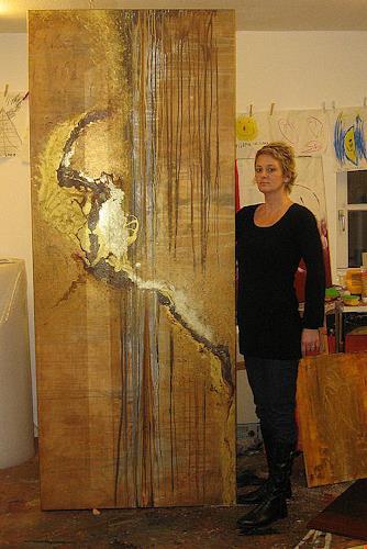 Nele Kugler, Watt, Abstract art, Landscapes: Beaches, Contemporary Art