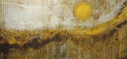 Nele Kugler, Watt II, Abstract art, Landscapes: Beaches, Contemporary Art
