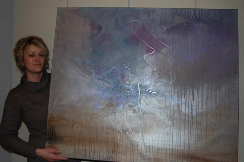 Nele Kugler, Gezeitenspiel & Nele Kugler, Abstract art, Landscapes: Sea/Ocean, Contemporary Art