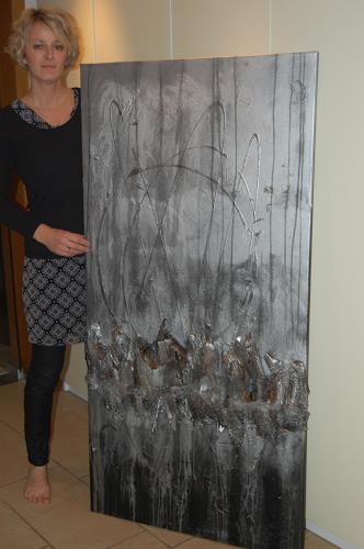 Nele Kugler, der Nachtbaum, Abstract art, Nature: Wood, Contemporary Art