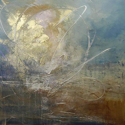 Nele Kugler, Gezeitenspiel II, Abstract art, Landscapes: Sea/Ocean, Contemporary Art