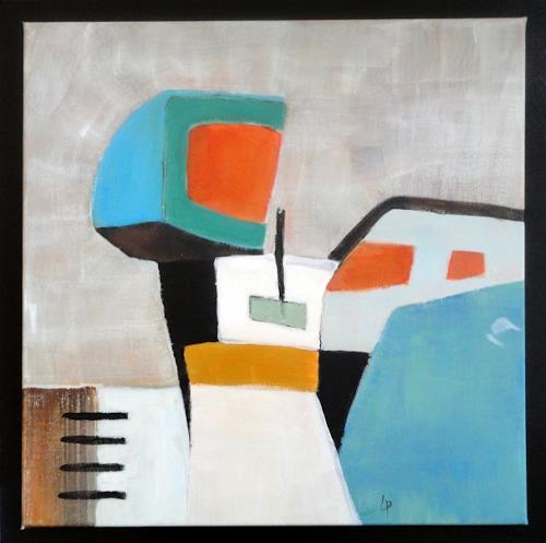 Gerda Lipski, o.T., Abstract art, The world of work, Expressionism