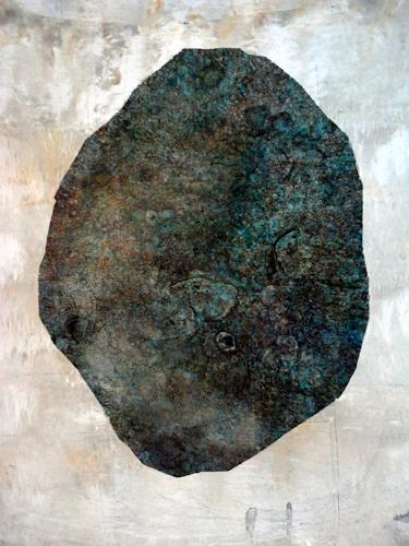 Gerda Lipski, o. T., Nature: Rock, Abstract Expressionism