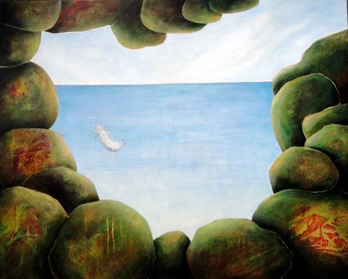 Gerda Lipski, o.T., Landscapes: Sea/Ocean, Miscellaneous Emotions