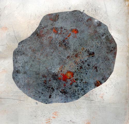 Gerda Lipski, o.T., Nature: Rock, Expressionism