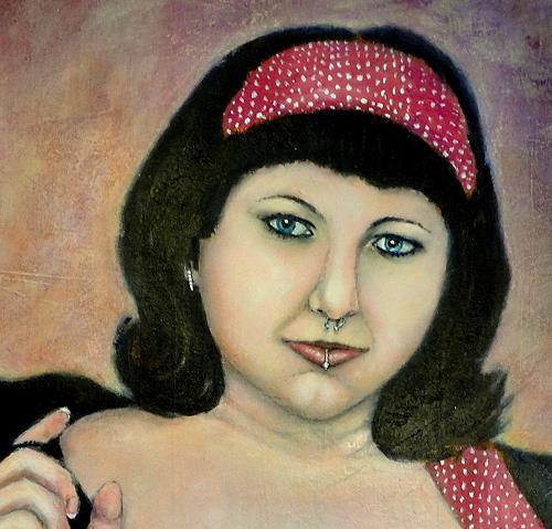 "Gerda Lipski, Ausschnitt aus ""retro power, People: Women, People: Faces"