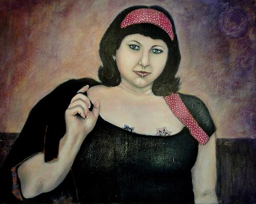 Gerda Lipski, retro power, People: Women, Expressionism