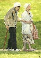 Eva-Maria-Mueller-1-People-Couples-Emotions-Love-Modern-Age-Impressionism
