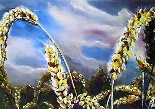 Ute Kleist, kurz davor, Plants: Fruits, Contemporary Art, Expressionism