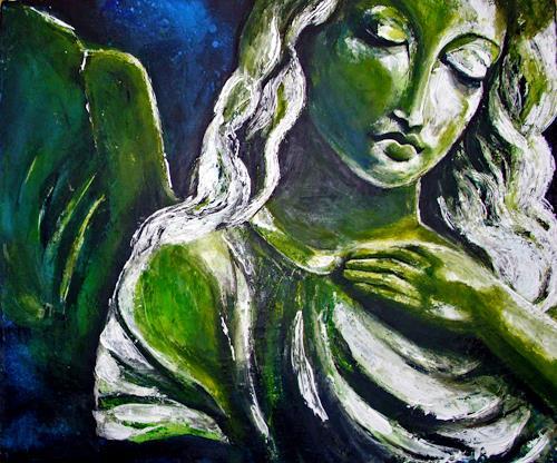 Ute Kleist, Seelenflüsterer, Belief, Emotions: Safety, Contemporary Art, Expressionism