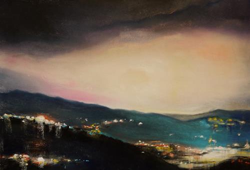 Ute Kleist, Lichtblick, Abstract art, Contemporary Art, Expressionism