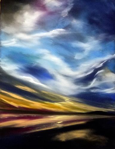 Ute Kleist, und über uns der Himmel, Nature: Air, Contemporary Art