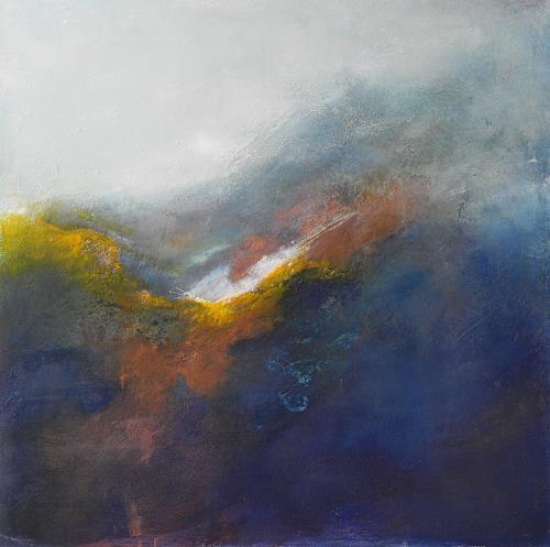 Ute Kleist, von irgendwo her, Abstract art, Poetry, Contemporary Art