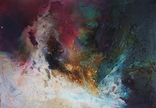 Ute Kleist, Jenseits der Gedanken, Abstract art, Times: Today, Contemporary Art, Abstract Expressionism