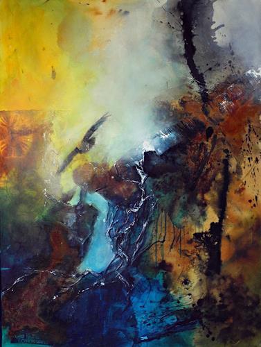 Ute Kleist, Die Kunst des Loslassens, Movement, Belief, Contemporary Art, Abstract Expressionism