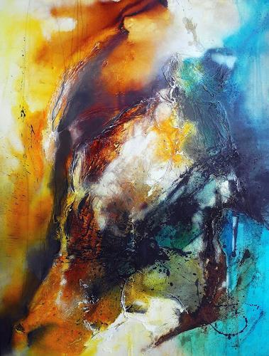 Ute Kleist, Entfaltung, Abstract art, Movement, Contemporary Art