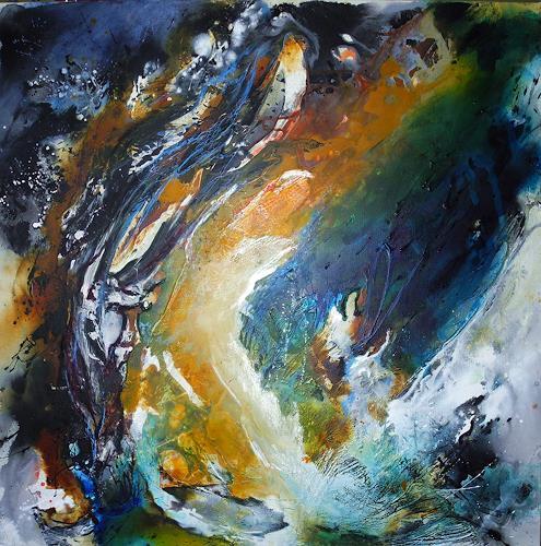 Ute Kleist, Behalt nichts zurück!, Abstract art, Emotions: Love, Contemporary Art