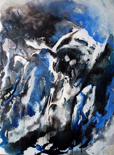 Ute Kleist, Weit draußen, Abstract art, Belief, Contemporary Art