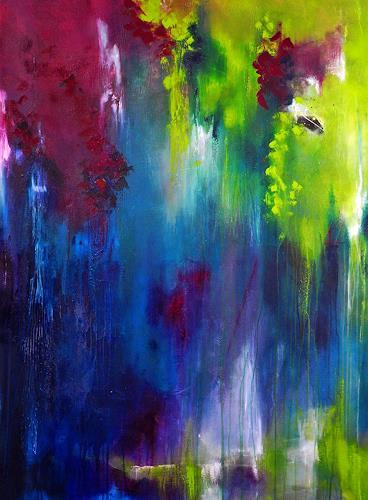 Ute Kleist, summerwine, Abstract art, Poetry, Contemporary Art