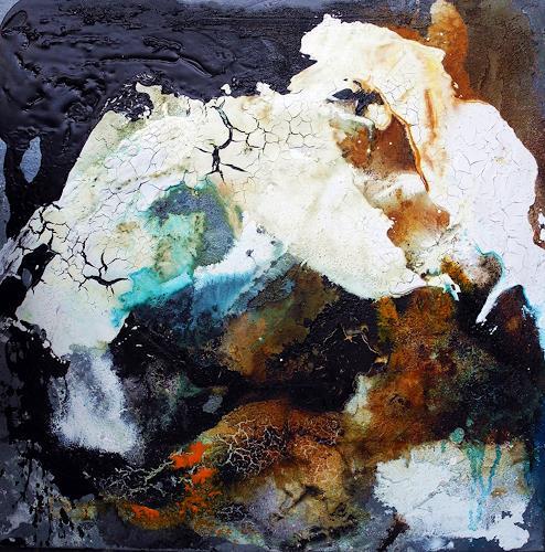 Ute Kleist, ein letztes Blau II, Abstract art, Contemporary Art