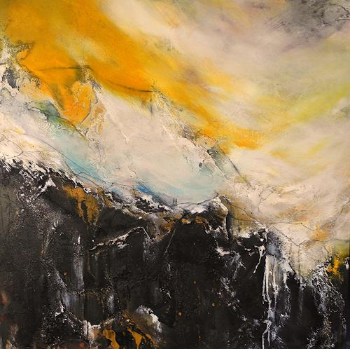 Ute Kleist, Zwei, Landscapes, Poetry, Contemporary Art, Abstract Expressionism