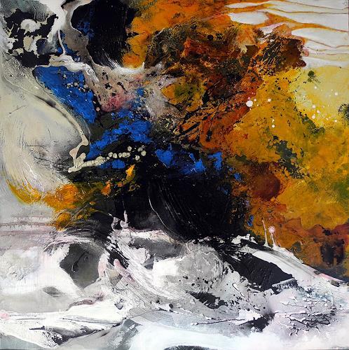 Ute Kleist, Geben und Nehmen, Abstract art, Emotions, Expressionism, Modern Age