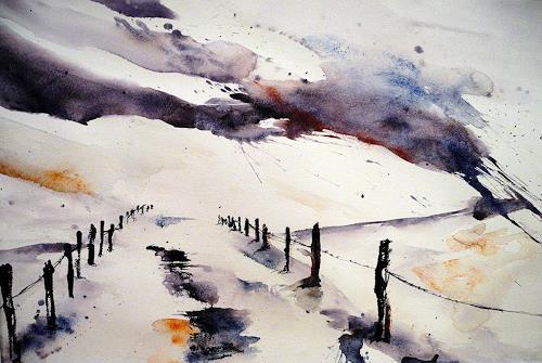 Ute Kleist, Hier!, Nature, Landscapes, Naturalism, Modern Age