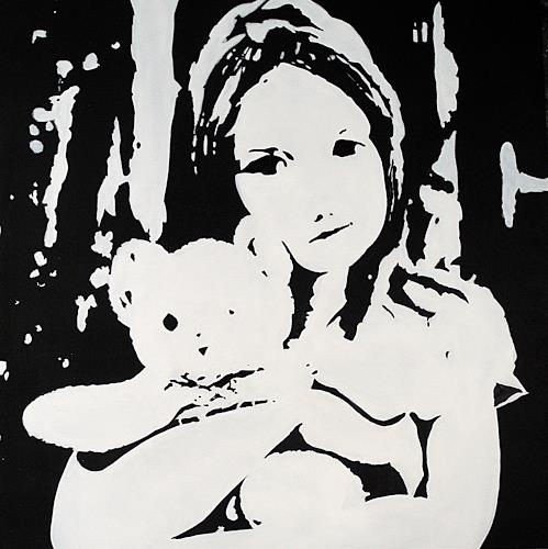 Ute Kleist, TEDDY, Emotions, Contemporary Art, Expressionism