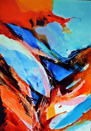 Ute Kleist, Ende offen, Abstract art, Movement, Expressionism, Abstract Expressionism
