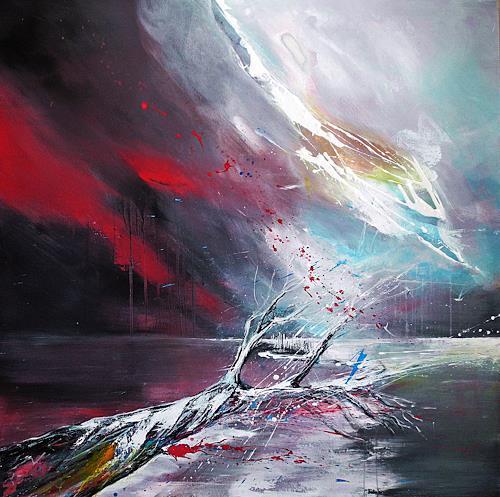 Ute Kleist, Ich werde erwartet, Belief, Movement, Expressionism, Abstract Expressionism