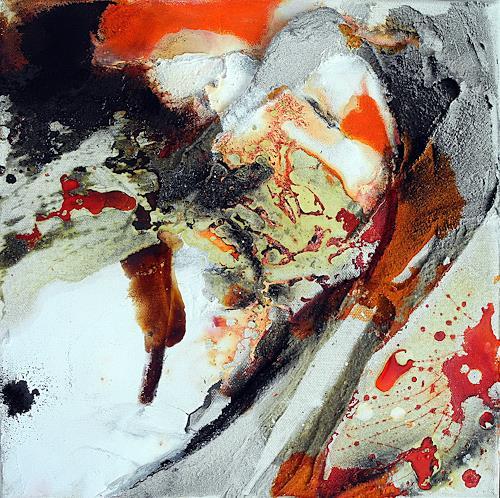 Ute Kleist, Mitten unterm Jahr I, Abstract art, Times, Expressionism, Abstract Expressionism
