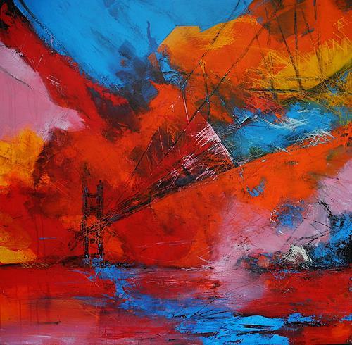 Ute Kleist, Ich werde erwartet II, Belief, Movement, Expressionism, Abstract Expressionism