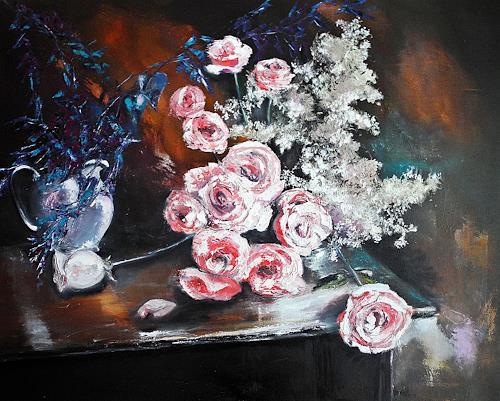 Ute Kleist, Rosenstolz, Romantic motifs, Poetry, Contemporary Art, Expressionism