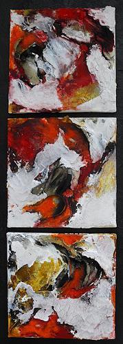 Ute Kleist, Herztöne, Abstract art, Emotions, Expressionism