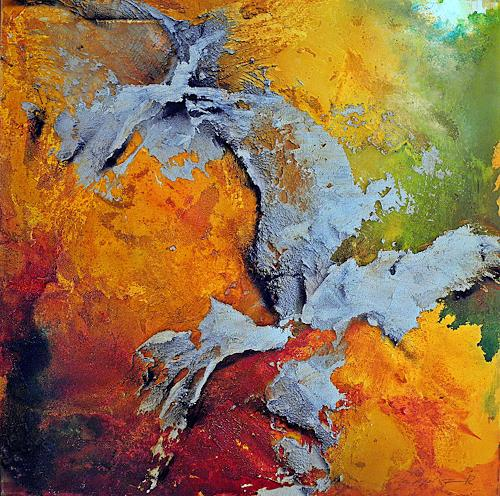 Ute Kleist, Summerfeeling I, Landscapes, Abstract art, Expressionism